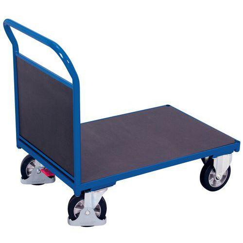 Carro ergonómico com plataforma e espaldar antiderrapantes – Capacidade de 1000kg