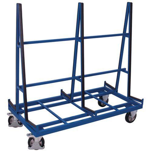 Carro porta-painéis ergonómico de dupla face – Capacidade de carga de 1200kg