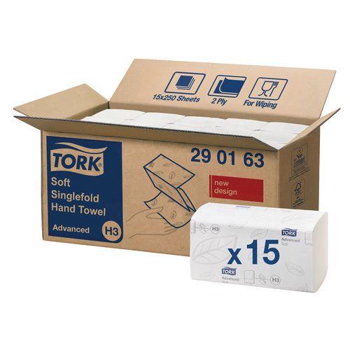 Toalhetes Tork Advanced H3 - Sobrepostos