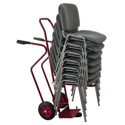 Porta-cargas para cadeiras ergonómico – Capacidade de carga de 250kg