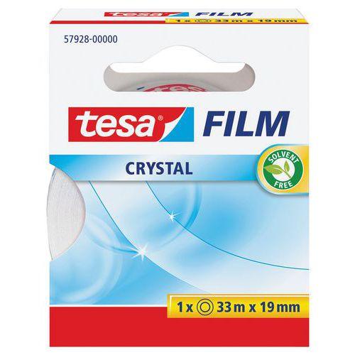 Fita adesiva TESA Crystal 33 m x 19 mm