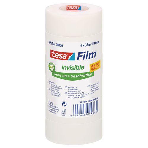Fita adesiva TESA Invisible 33m x 19mm - Conjunto de 6