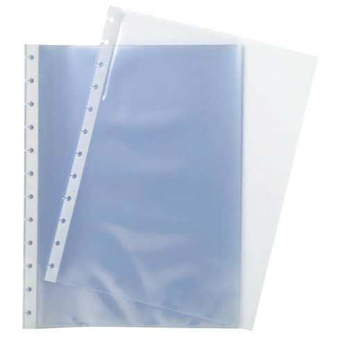 Bolsa perfurada transparente A4 Exacompta - Conjunto de 10