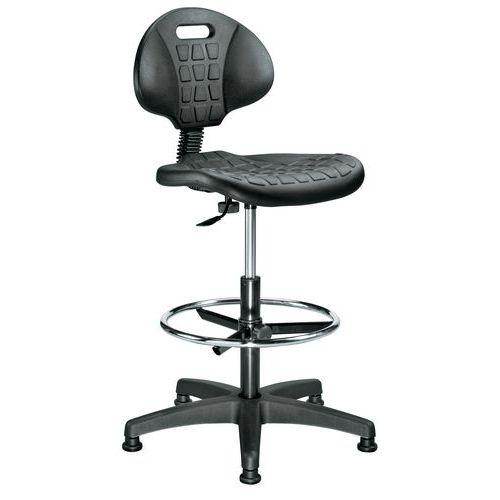 Cadeira de oficina ergonómica – Alta – Manutan