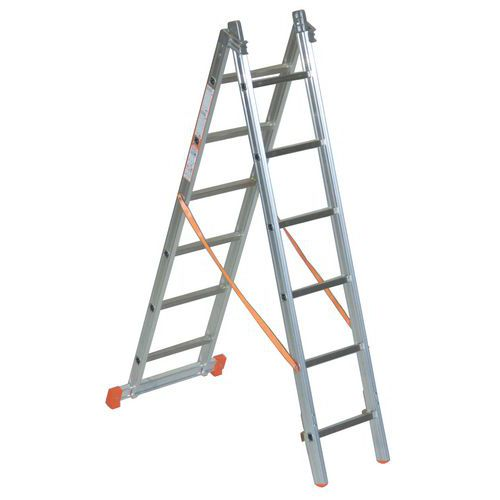 Escada com autoestabilizador Éco - 2 planos