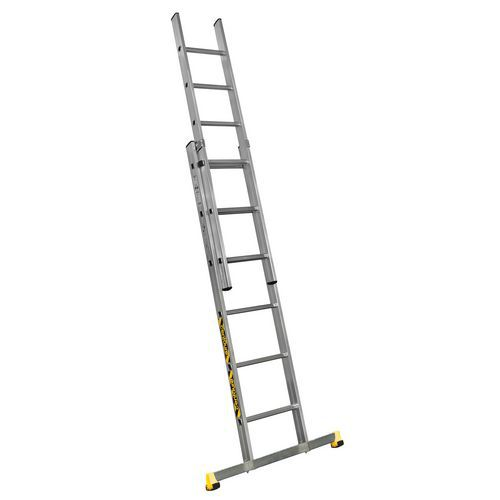Escada extensível manual de 2 secções