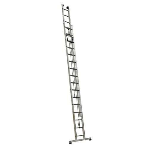 Escada extensível com corda – 2 secções