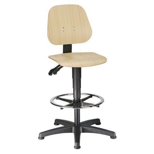 Cadeira de oficina ergonómica Bimos Unitec – Alta