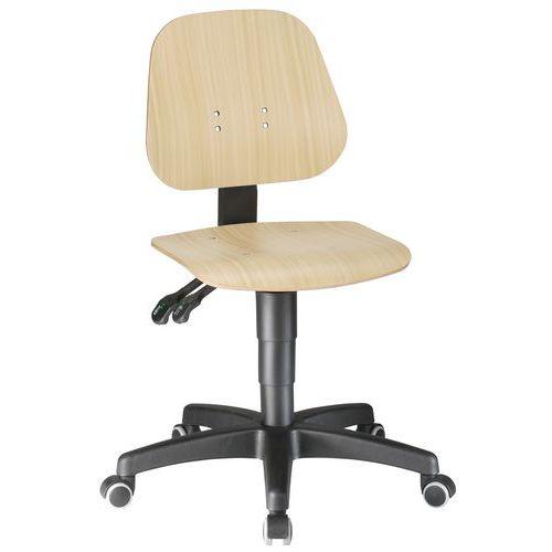 Cadeira de oficina ergonómica baixa, Bimos Neon