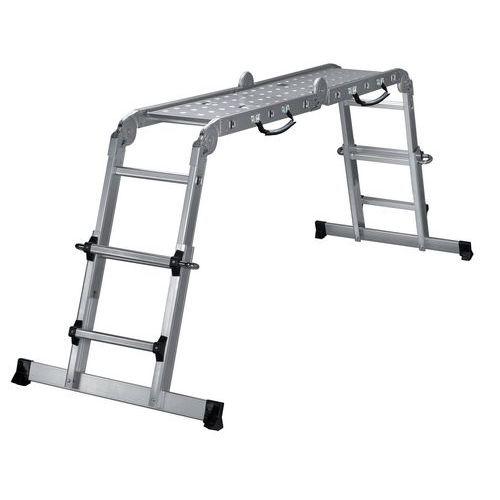 Escada transformável de altura regulável Solucio