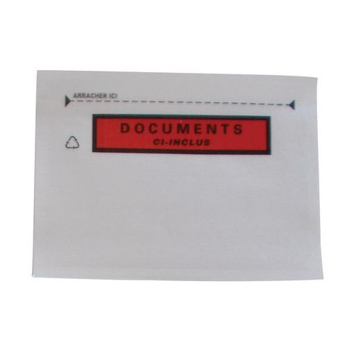 Envelope porta-documentos reforçado Pac-List – Document ci-inclus