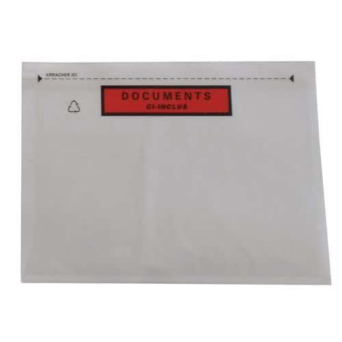 Envelope porta-documentos reforçado Pac-List – Document ci-inclus