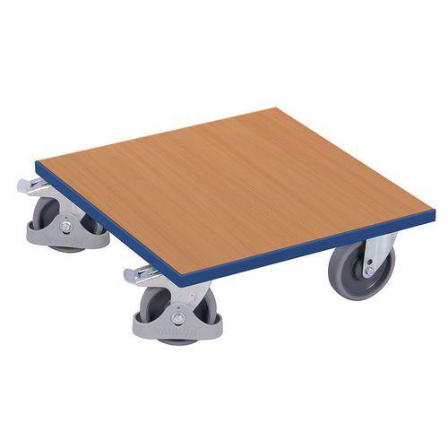 Plataforma móvel em madeira – capacidade de 400kg