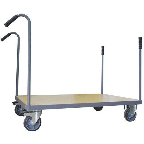 Carro com montantes amovíveis – Capacidade: 500kg – Manutan