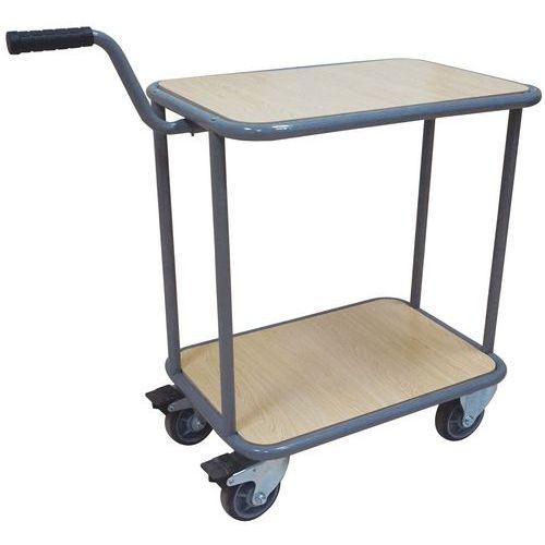 Carro com 2 plataformas – Capacidade: 200kg – Manutan