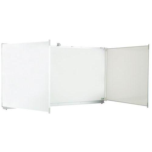 Quadro branco 5 painéis - Vanerum