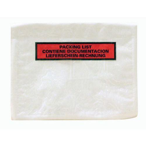 Bolsa porta-documentos Éco-List - Packing list 3 idiomas