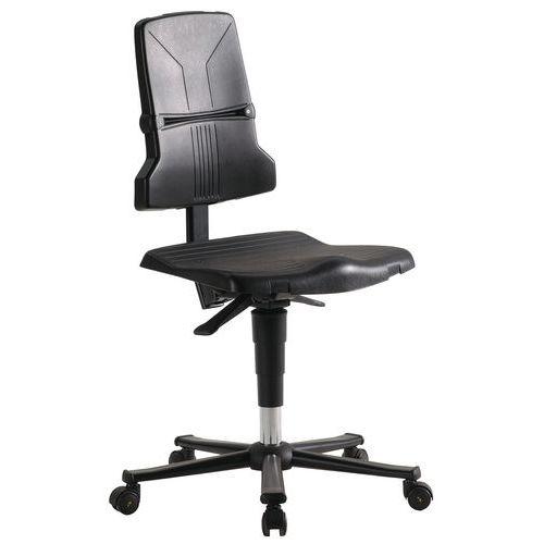 Cadeira de oficina Bimos Sintec ESD – Baixa – Com rodízios