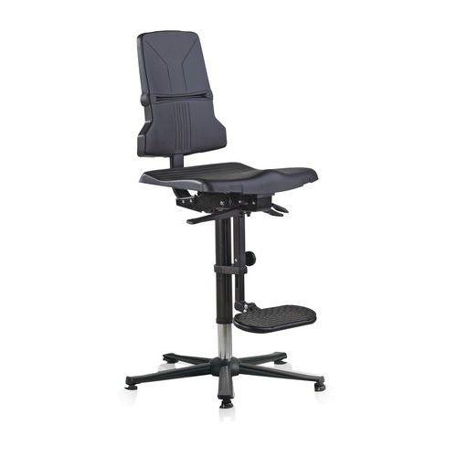 Cadeira de oficina Bimos Sintec ESD – Alta – Com calços