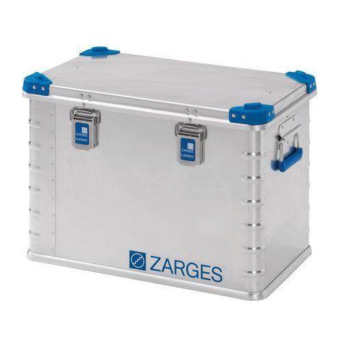 Caixa de transporte empilhável em alumínio de 27 a 240L