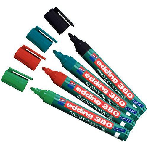 Conjunto de marcadores para cavalete