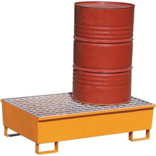 Caixa de retenção cónica - Capacidade de retenção de 220 l - Manutan