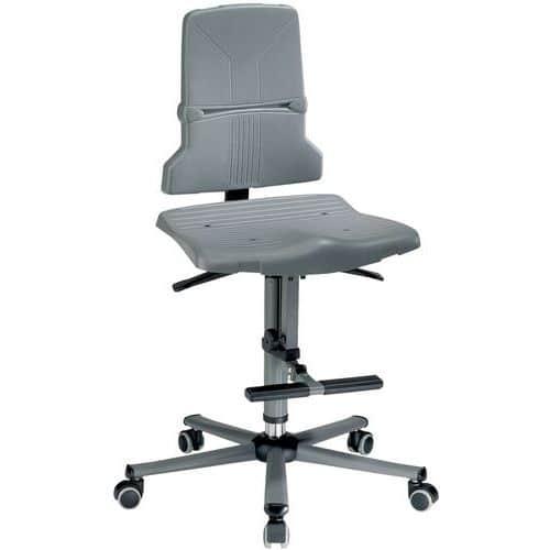 Cadeira de oficina ergonómica Bimos Sintec – Alta