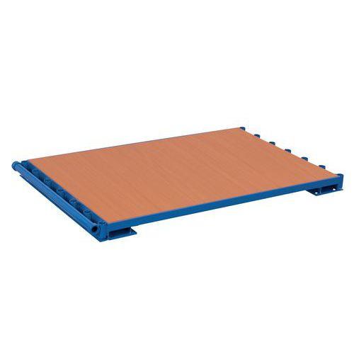 Base para estante para placas – Sem taipal