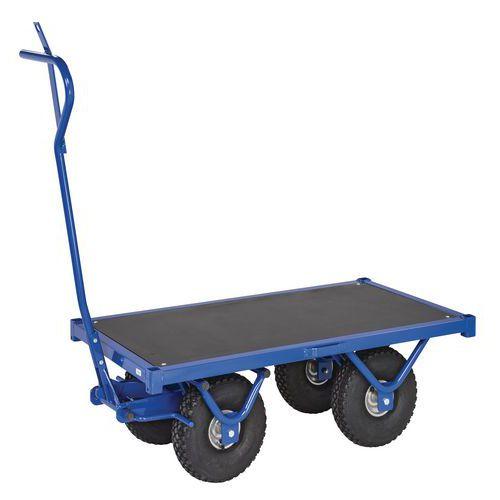Reboque de plataforma única – Capacidade: 500kg