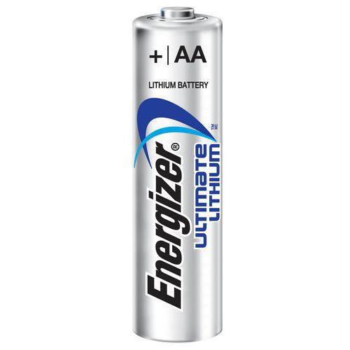 Pilha de lítio Ultimate – AA/LR6 – 1,5V – conjunto de 4 – Energizer