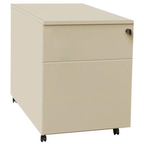 Bloco de gavetas móvel Confort 2 - Bege