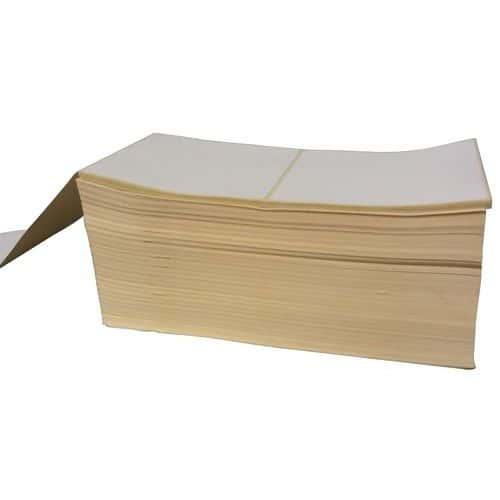 Tira de etiquetas de papel térmico eco