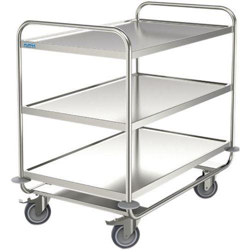 Carro inox - 3 plataformas - Capacidade 200 kg