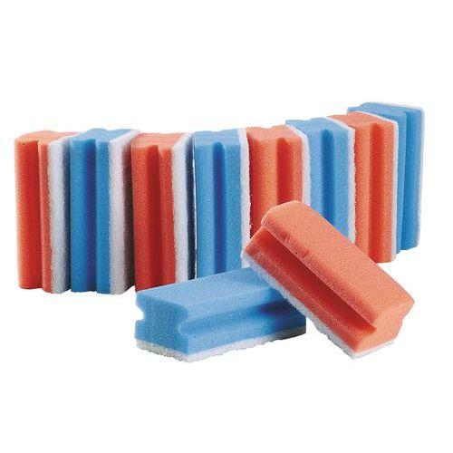 Grande esponja de esfregar de fácil apreensão
