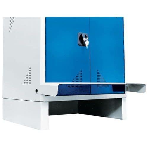 Armário para produtos informáticos com base – para computador de secretária