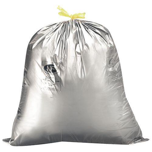 Saco de lixo com pegas deslizantes – Resíduos leves ou pesados – 30 a 100L