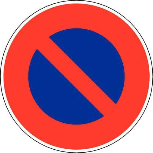 Painel de sinalização - B6a1 - Estacionamento proibido