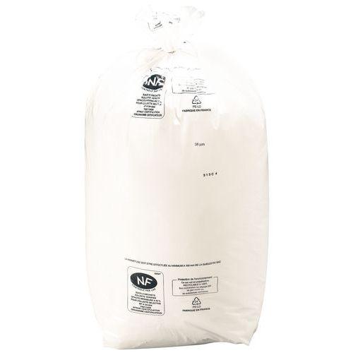 Saco de lixo para separação seletiva – Resíduos pesados – 110L