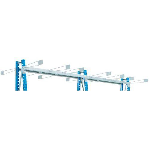 Porta-rótulo de separador para estante Epsivol Vertical - Esquerdo