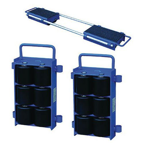 Base rolante fixa ajustável – Capacidade de 6000 e 12000kg