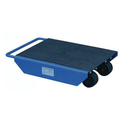 Base rolante com rodas giratórias – Capacidade: 1000kg