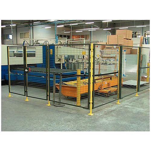 Divisória de proteção de máquina - Painel rede - Altura 1,6 m