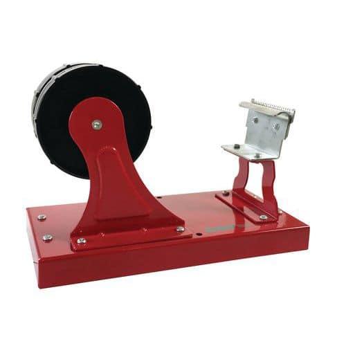 Desenrolador pesado com 2 rolos