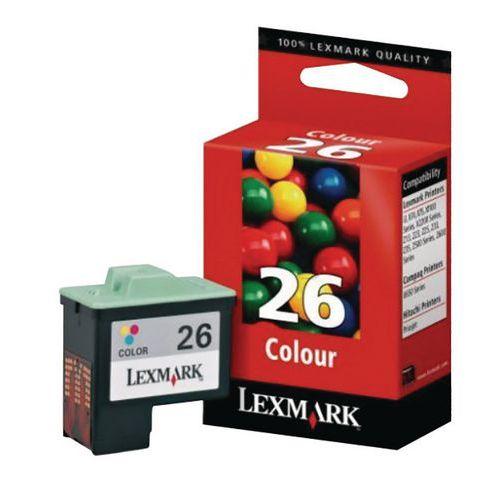 Cartucho de tinta - N26 - Lexmark