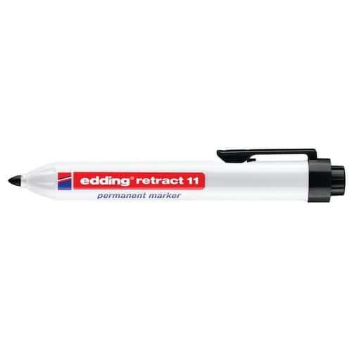Marcador permanente Edding Retract E-11