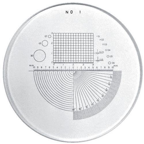 Escala múltipla para microlupas PEAK