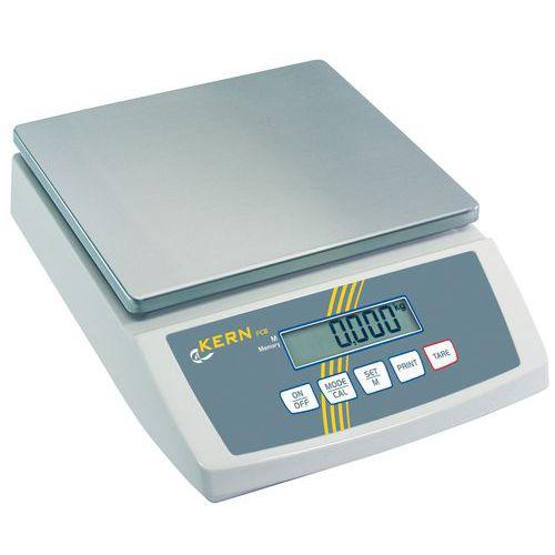 Balança compacta Kern CB - Capacidade 3 a 24 kg