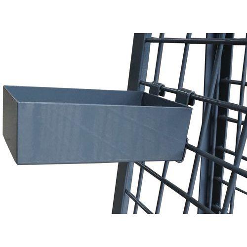 Caixa porta-ferramentas para carro – Capacidade de 25kg – Manutan