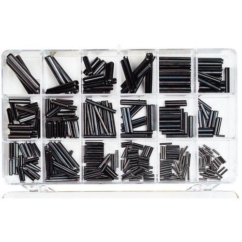 Caixa cavilhas elásticas, tipo pesada - 136 peças