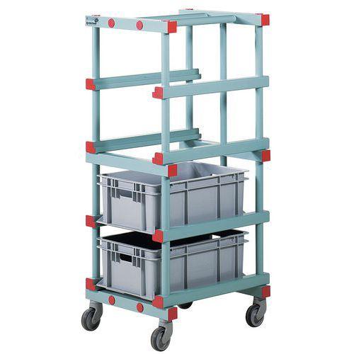 Carro para caixas – 660mm de comprimento
